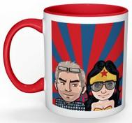 Sofpoddenmugg Wonder Woman