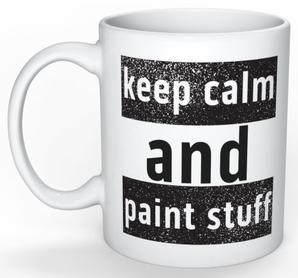 Design Penselfolket: Var lugn och måla saker